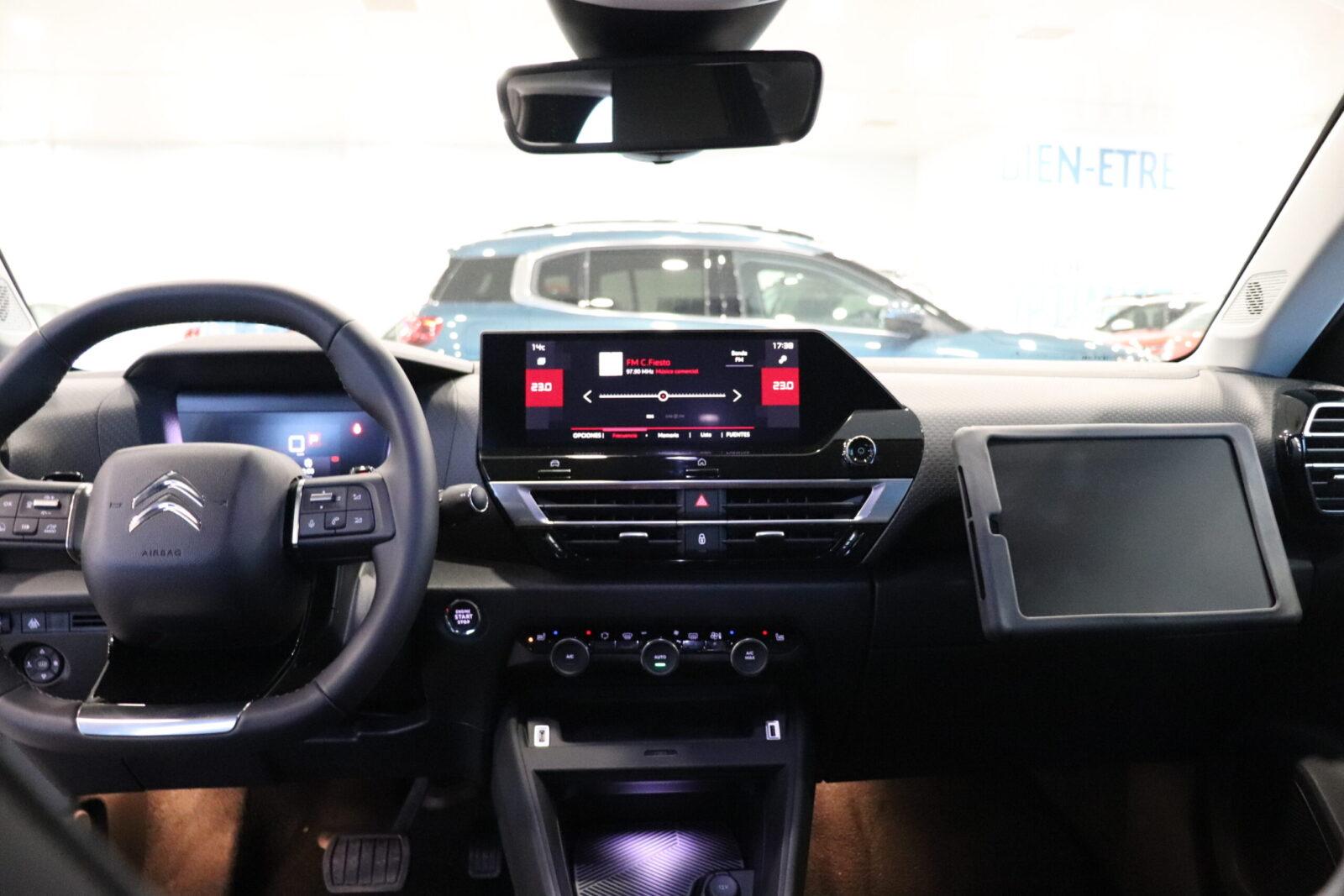 Nuevo C4 Interior Gonzalez de Automocion