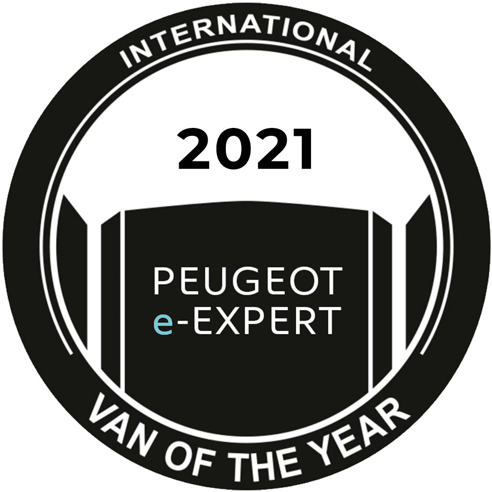 "El nuevo PEUGEOT e-EXPERT ha sido premiado como ""International Van of the Year 2021"""