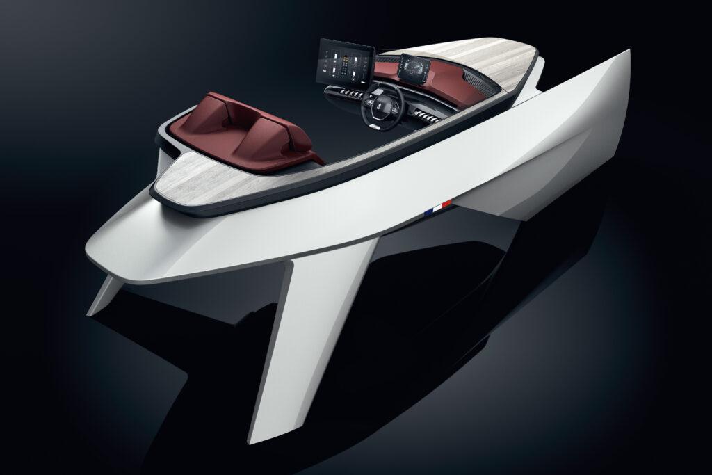 Beneteau Peugeot Sea Drive Concept 001_0 gonzalez de automocion