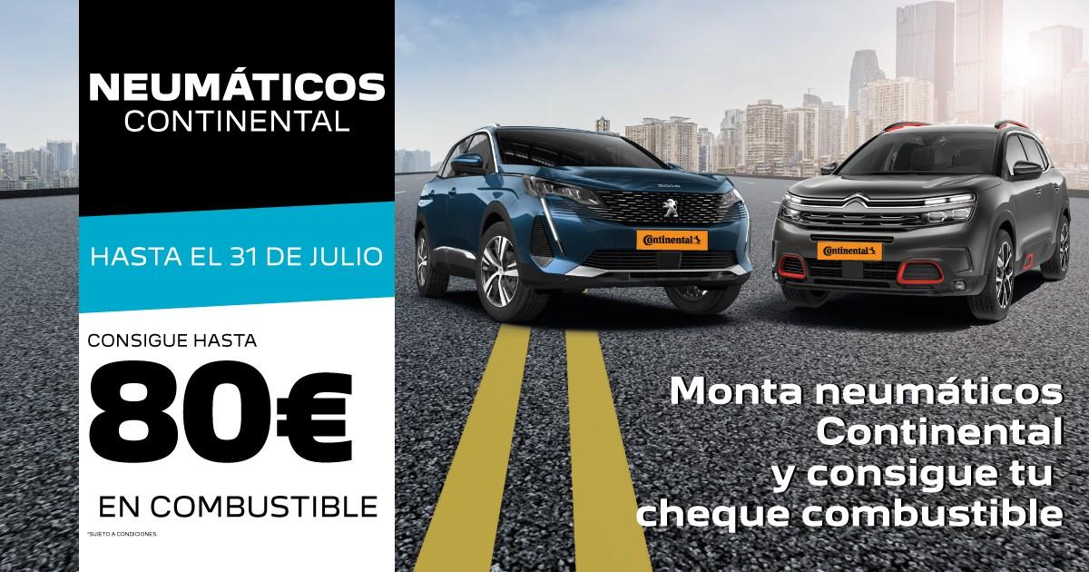 CONTINENTAL-CHEQUE-REGALO GONZALEZ DE AUTOMOCION